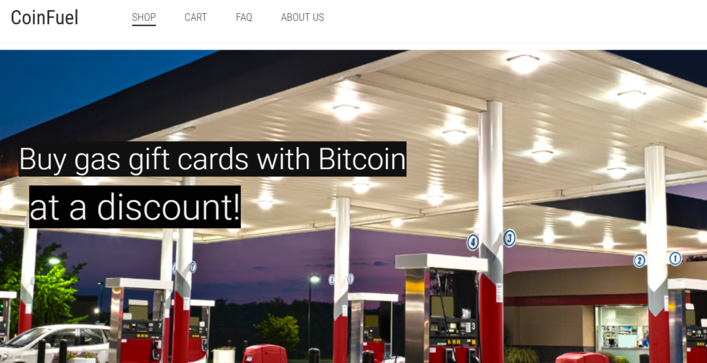 Coinfuel is one of the 7 ways to use cryptocurrency for travel