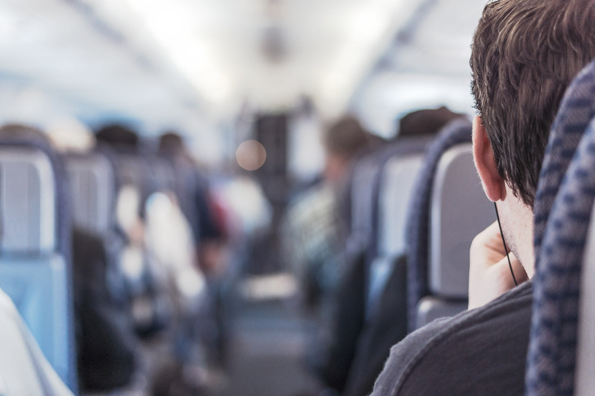 feel comfortable during a long flight