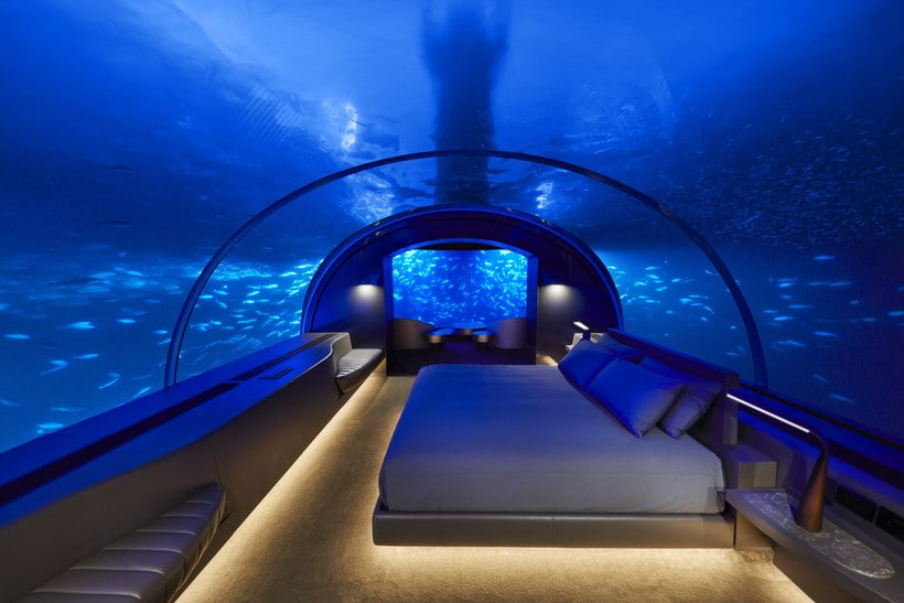 hotels underwater