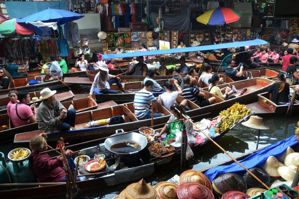 Bangkok es uno de los mejores destinos para hacer compras