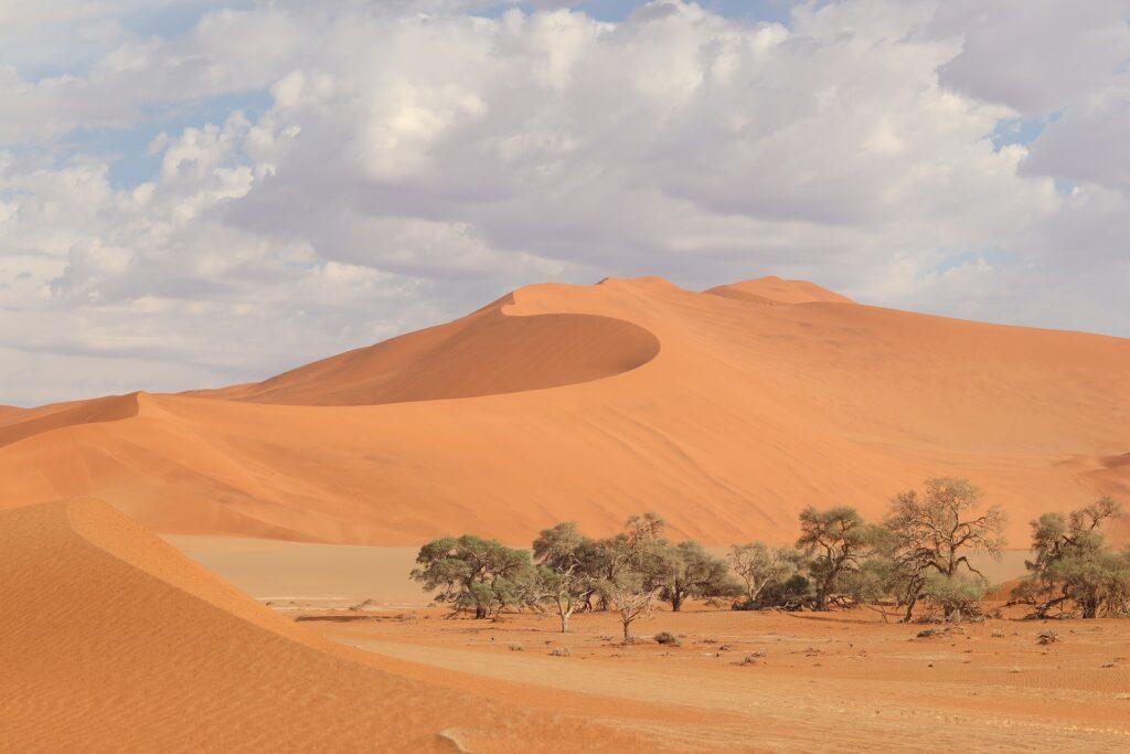 Sossusvlei  es de los mejores lugares para visitar en Namibia