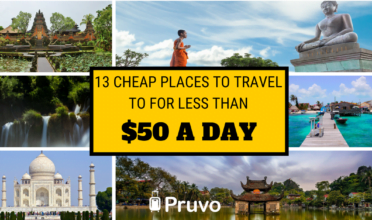 cheap places to travel